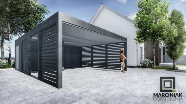 Wiata garażowa zadaszenie carport pomieszczenie gospodarcze