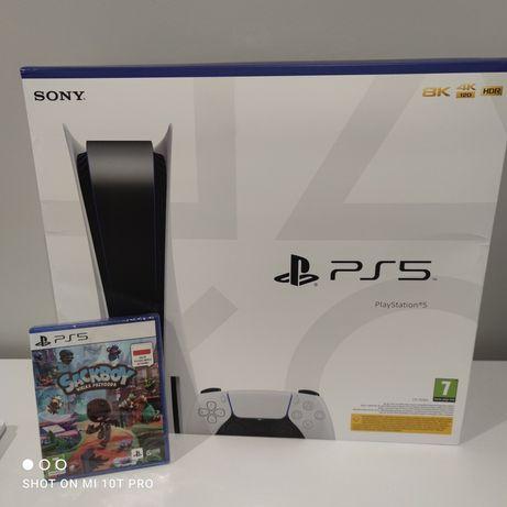 Nowa konsola PS5 + gra SackBoy