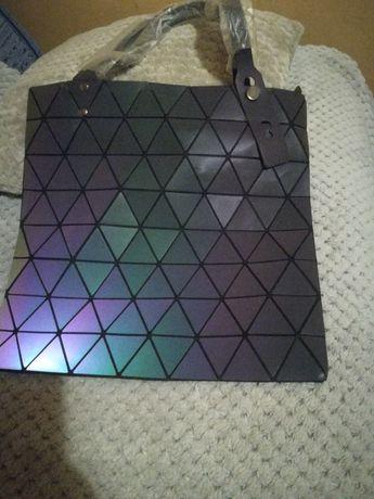 Torebka holograficzna