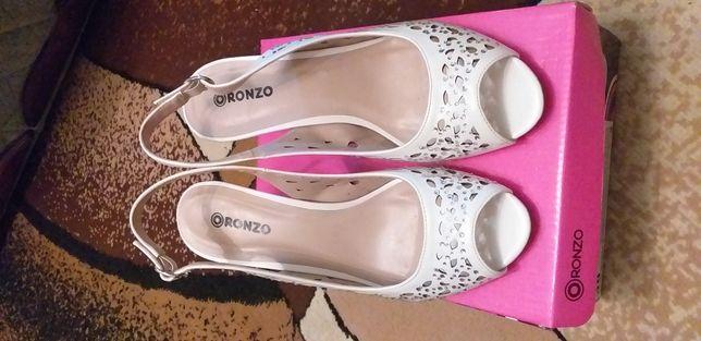 Туфли экокожа женские
