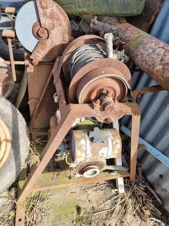 Winda spalinowa budowlana -uszkodzona