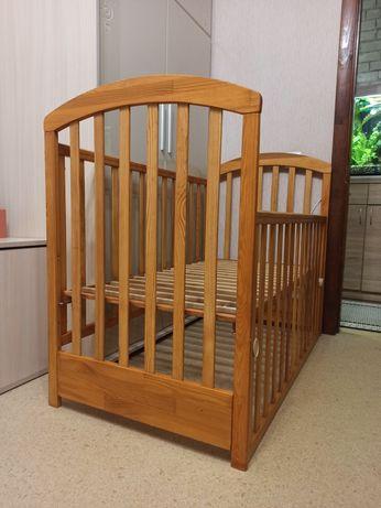 Детская кроватка, кровать 60*120, Польша, Drewex
