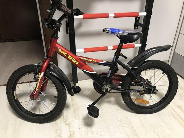Велосипед детский 16 колеса 3-7 лет