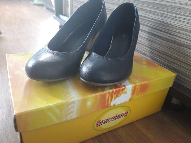 Eleganckie buty na obcasie 38