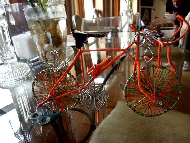 Artesanato bicicleta Moçambique