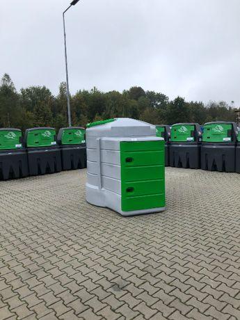 FORTIS 2500 szklany filtr, duża szafa, zbiornik olej napędowy paliwo