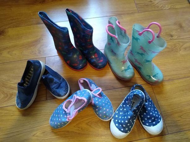 Buty dziewczęce rozmiar 27-28