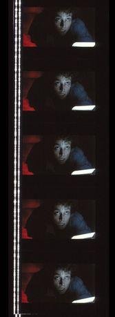 Fotogramas em película 35mm do filme culto ALLIEN