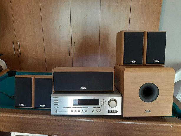 Vendo onkyo receiver -tx sr502E - 250 euros