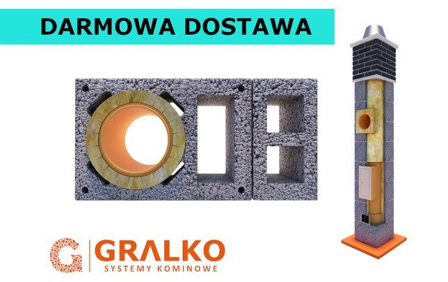 Komin systemowy 6m KW3system kominowy ceramiczny 30 lat GWARANCJI!
