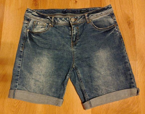 Jeansowe szorty krótkie spodenki 36/S
