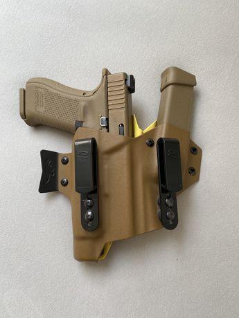 Kabura IWB T-Rex Arms USA Sidecar Glock 19 + TLR-1