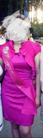 Атласна сукня ,платье, вечернее,вечірнє ,атлас.Киев ,Малин