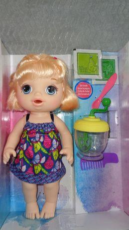 Hasbro, LALKA Baby Alive, Słodka przekąska blondynka
