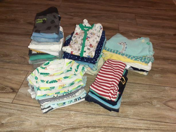 Paka ubrań dla chłopca r. 62 stan bdb sweterek  spodnie pajac body