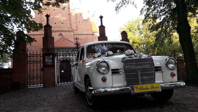 Mercedes Ponton 1960r. Auto Samochód Do Ślubu Wesele