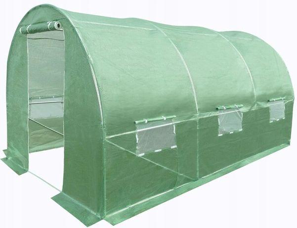 Namiot ogrodniczy tunel foliowy folia szklarnia ogrodowa 8m² (4x2x2)