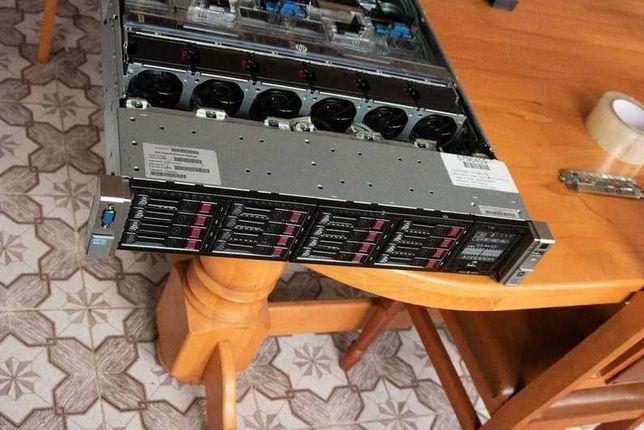 HP DL380p gen 8 g8 16sff lga 2011 ddr3 reg 64gb xeon 2690