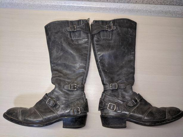 Сапоги кожаные Belstaff 38