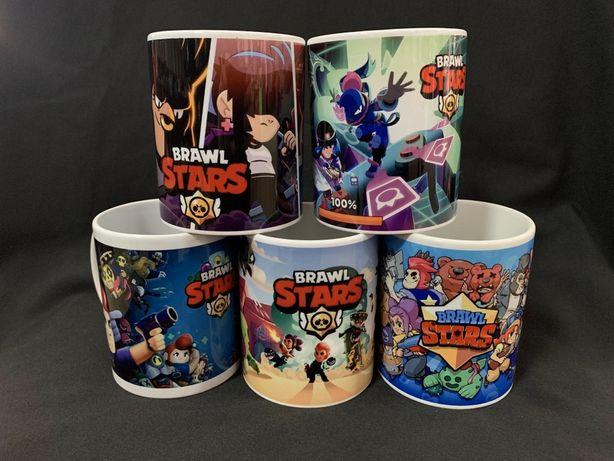 Бравл Старс кружка чашка Brawl Stars