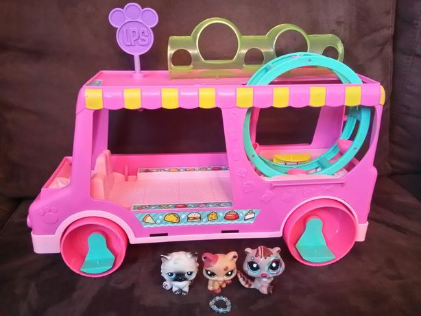 Food Truck Littlest Pet Shop LPS