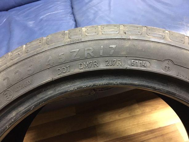 Dunlop sp sport 01a 225/45zr17 лето -1 штука