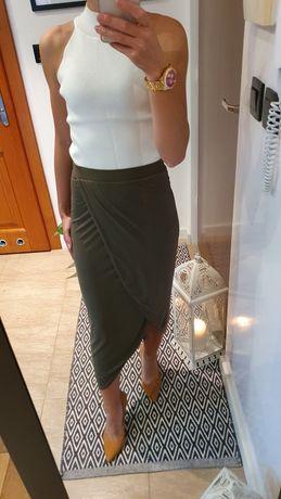 Komplet spódnic  Sisley Khaki plus Czarna 35 zł