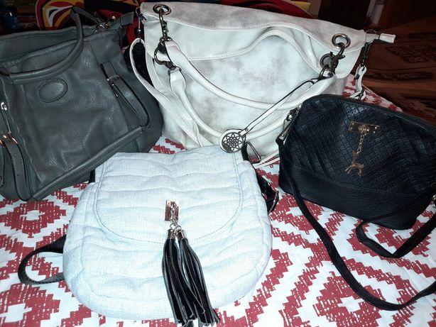 Torebka , torebki , listonoszki , mała czarna ,  cena za wszystkie...