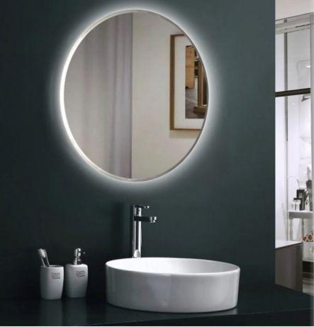 Зеркало круглое  70 см с подсветкой