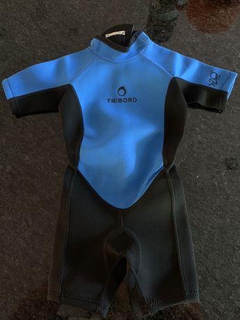 Decathlon - Tribord - fato neoprene criança - 4 anos - 15€