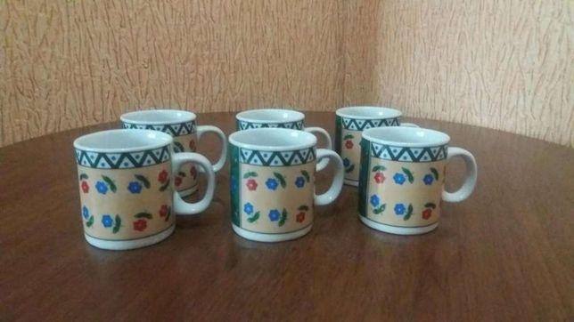Набор чашек кофейных 5 шт