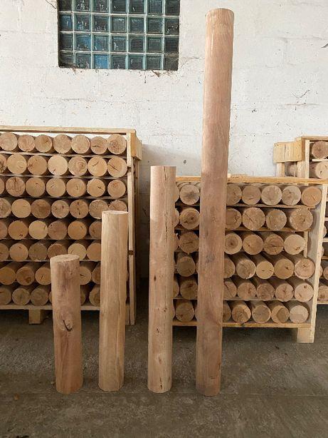 Wałek - buk, palisada, kołkek, rolka z drewna bukowego