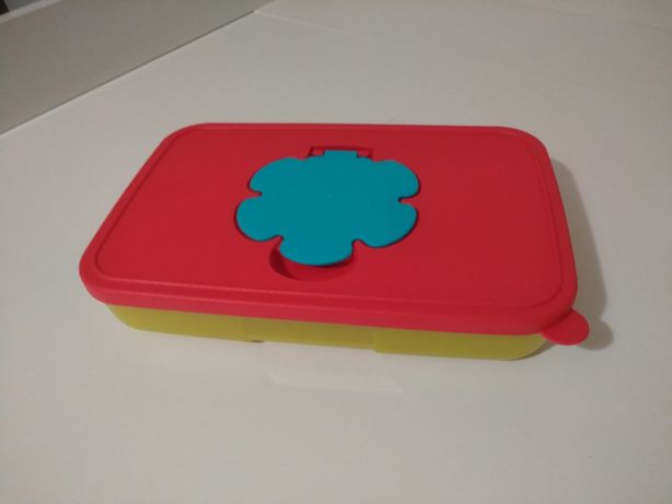 Porta toalhetes/toalhitas Tupperware - novo