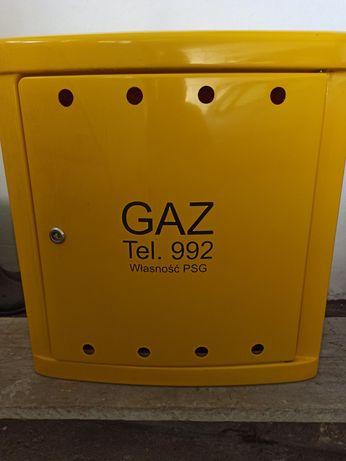 Nowa skrzynka szafka gazowa