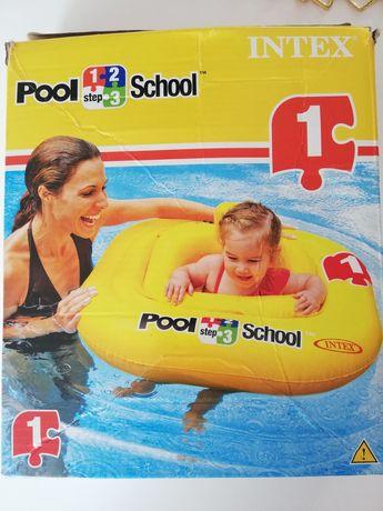 Koło do pływania dla niemowląt