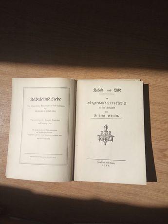 Книги Шіллера на німецькій мові