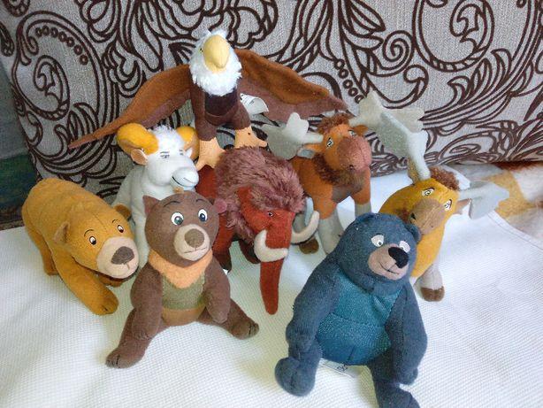Набор мягких игрушек из мультика Братец медведь