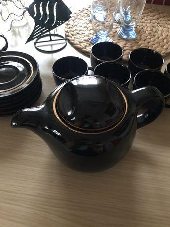 Zestaw filiżanek kawa herbata