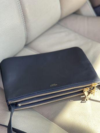 Celine small кожаная сумка черная оригинал