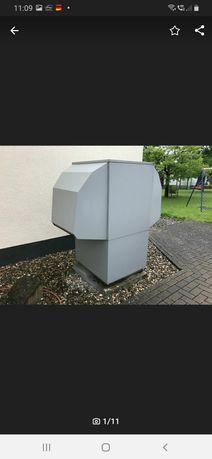 Pompa ciepła powietrze-woda firmy Buderus wpl 120 ar 15,5kw