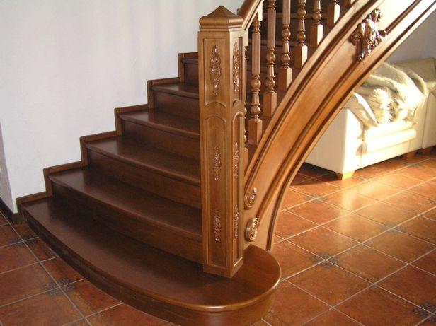 Заказать деревянную лестницу в дом под ключ. Частный столяр 25лет опыт