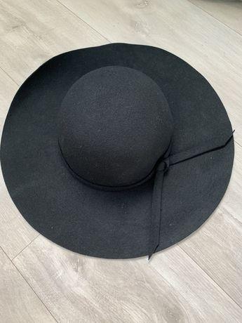 Шляпа с полями шерсть