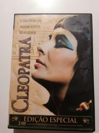 """Cleópatra Edição Especial - 3Dvd""""s"""