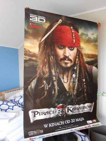 Plakat Piraci z Karaibów na nieznanych wodach