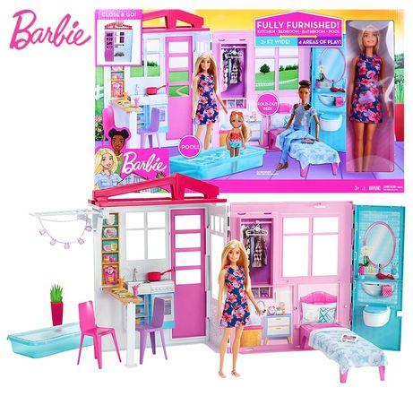 Lalka Barbie Przytulny Domek (FXG55)