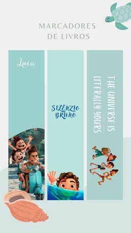 Marcadores de livros | Luca