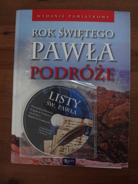 Rok św.Pawła-wydanie pamiątkowe Książka+płyta+gratis(św.Paweł-skrypt)