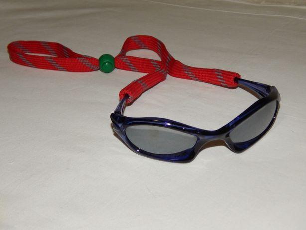 Спортивные солнцезащитные очки Uvex для детей.