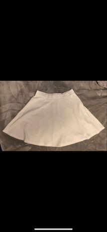 Biała spódniczka L