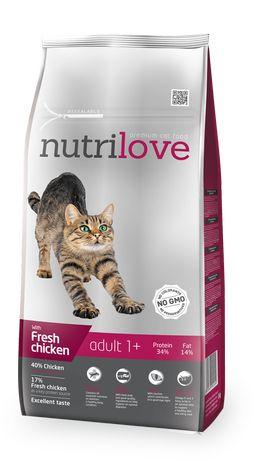 Nutrilove Cat 12293 Adult 1,5Kg Kurczak